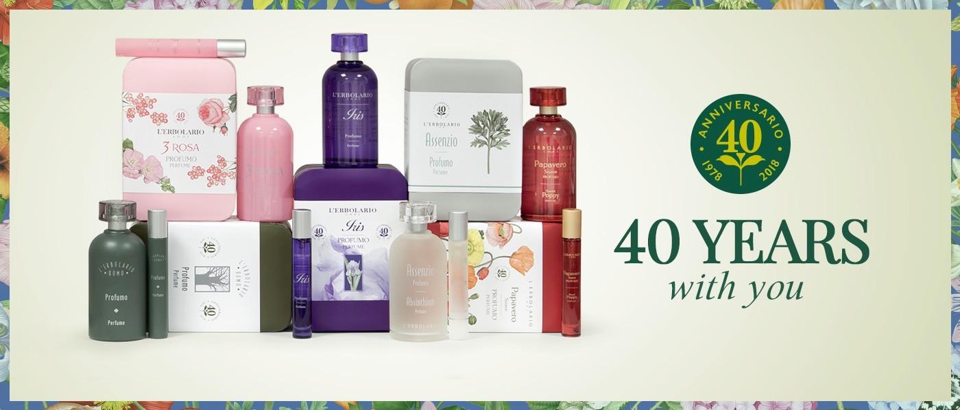40th Anniversary Perfumes